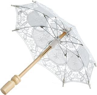 small lace umbrellas