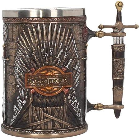 Jintong Lot de 2 banni/ères Game of Thrones pour d/écoration de Maison Targaryen Stark Lannister Baratheon Bolton Nuits Montre /à Suspendre