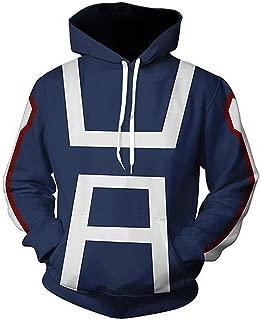 NoveltyBoy Boku No Hero Academia My Hero Academia Izuku Midoriya Hoodies Sweatshirt Cosplay Costume Training Suit Jacket