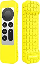 MoKo Remote Cover Silicone Case Compatible with Apple TV 4k 2021 Remote, Lightweight Shockproof Non-Slip Protective Skin F...