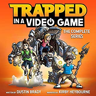 Trapped in a Video Game: The Complete Series audiobook cover art