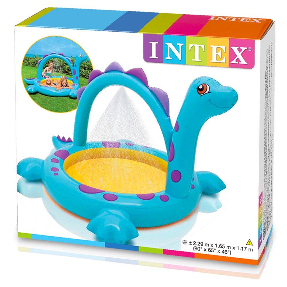 Intex - Piscina Hinchable, 229 x 165 x 117 cm, 170 l, diseño ...