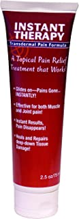 Sponsored Ad - Instant Therapy Transdermal Pain Formula   Topical Lotion with Camphor   1 Tube