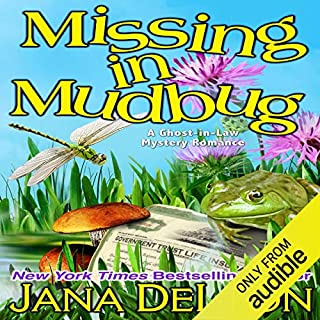 Missing in Mudbug audiobook cover art