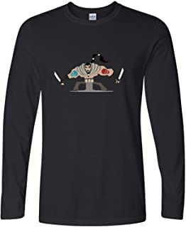 Jackdona Dothraki Khal Drogo Skull Graphic Mens T-Shirt Long Sleeve Tees