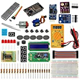 The ESP32 is a powerful microcontroller. With the ESP32, you can get a lot more capacity to build more interesting projects. Include In this kit Modules and Components, projects complete working demo video lectures, Source codes and Software for prog...