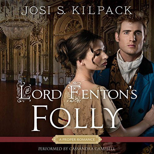 Lord Fenton's Folly audiobook cover art