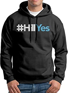 #HillYes Hillary Clinton 2016 For President Men's Printing Design Hoodies