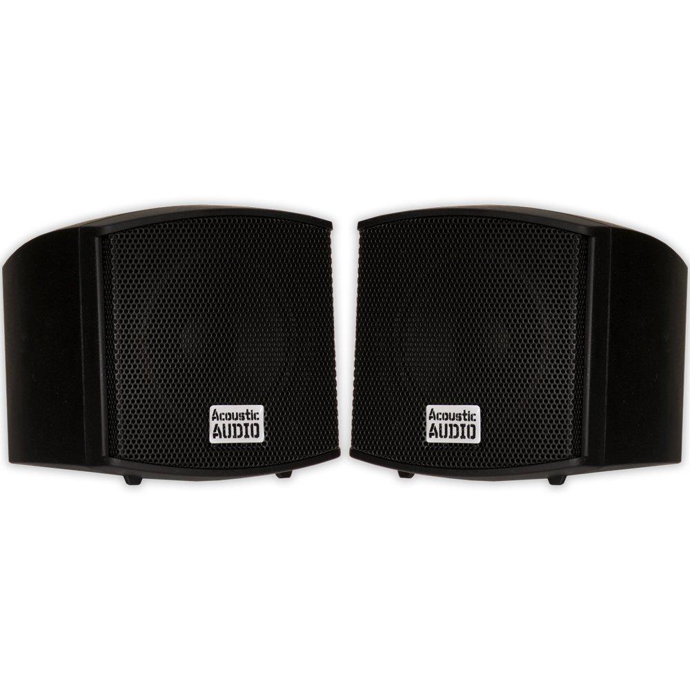 Acoustic Audio AA321B Mountable Bookshelf