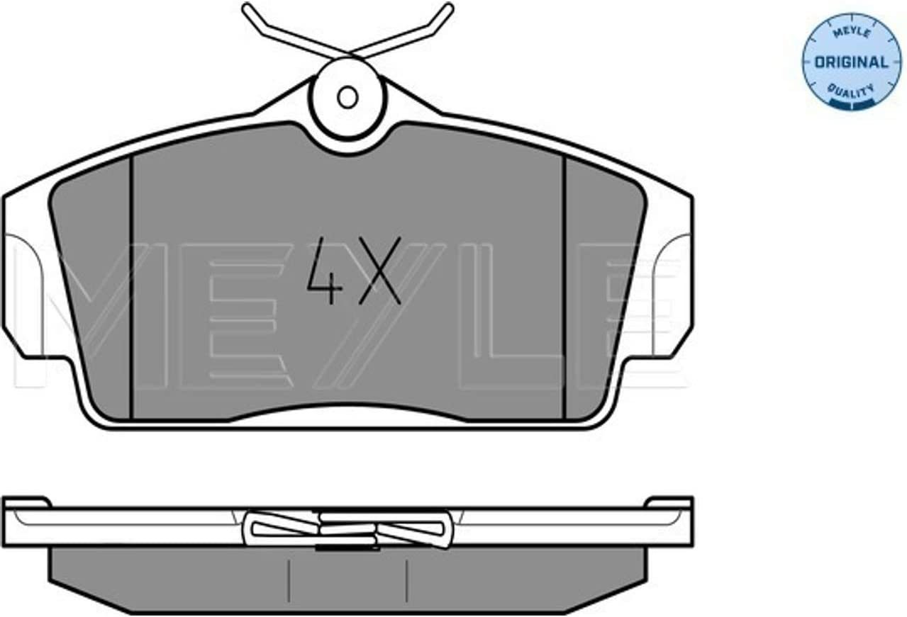 67% OFF of fixed price Meyle Brake Pad Set Axle Front Pads Attention brand