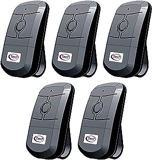 Kit 5 Controle Remoto Tec7 Universal 433 Mhz Portão Eletrônico Garen PPA Rcg