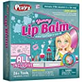 Playz Yummy Lip Balm Makeup Arts & Craft Kit to Create Fruity Lipstick, Shimmering Balms, & Solar Lip Screens Using Science Experiments for Girls, Teens, Teenagers & Kids Ages 8+