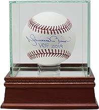 Mariano Rivera Yankees Signed Official MLB Baseball HOF 2019 w/Glass Case JSA