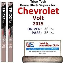 Best 2015 chevy volt wiper blade size Reviews