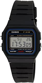 Casio Youth-Digital Black Small Dial Men's Watch - F-91W-1DG (D002)
