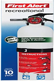 First Alert Rec5 Rechargeable Recreational Fire Extinguisher