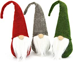 FUTUREPLUSX Easter Gnome Plush, 3PCS Swedish Gnome Handmade Birthday Gnome Scandinavian Tomte