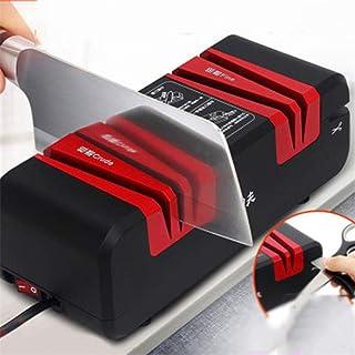 XMYL Afilador De Cuchillos Eléctrico, Multifuncional Afilador 4 En 1 Afilado De La Máquina para Cuchillos Destornilladores De Tijera
