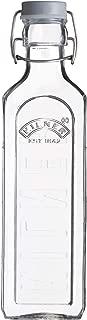 Kilner Clip Top Bottle, Clear/Transparent, 0.6 Litre