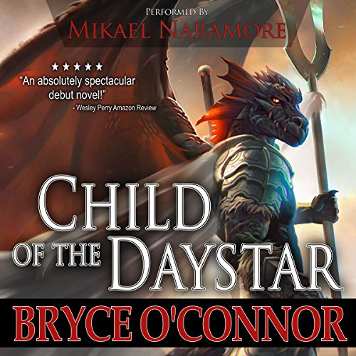Child of the Daystar audiobook cover art