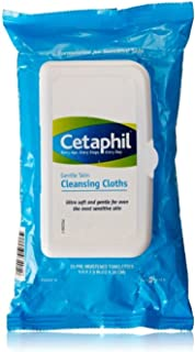 Cetaphil Gentle Skin Cleansing Cloths, 25 sheets (Pack of 4)