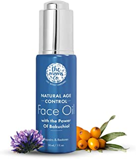 The Moms Co Natural Age Control Face Oil I Non-Sticky I Intense Hydration & Glow I Anti Ageing INatural Retinol (30ml)