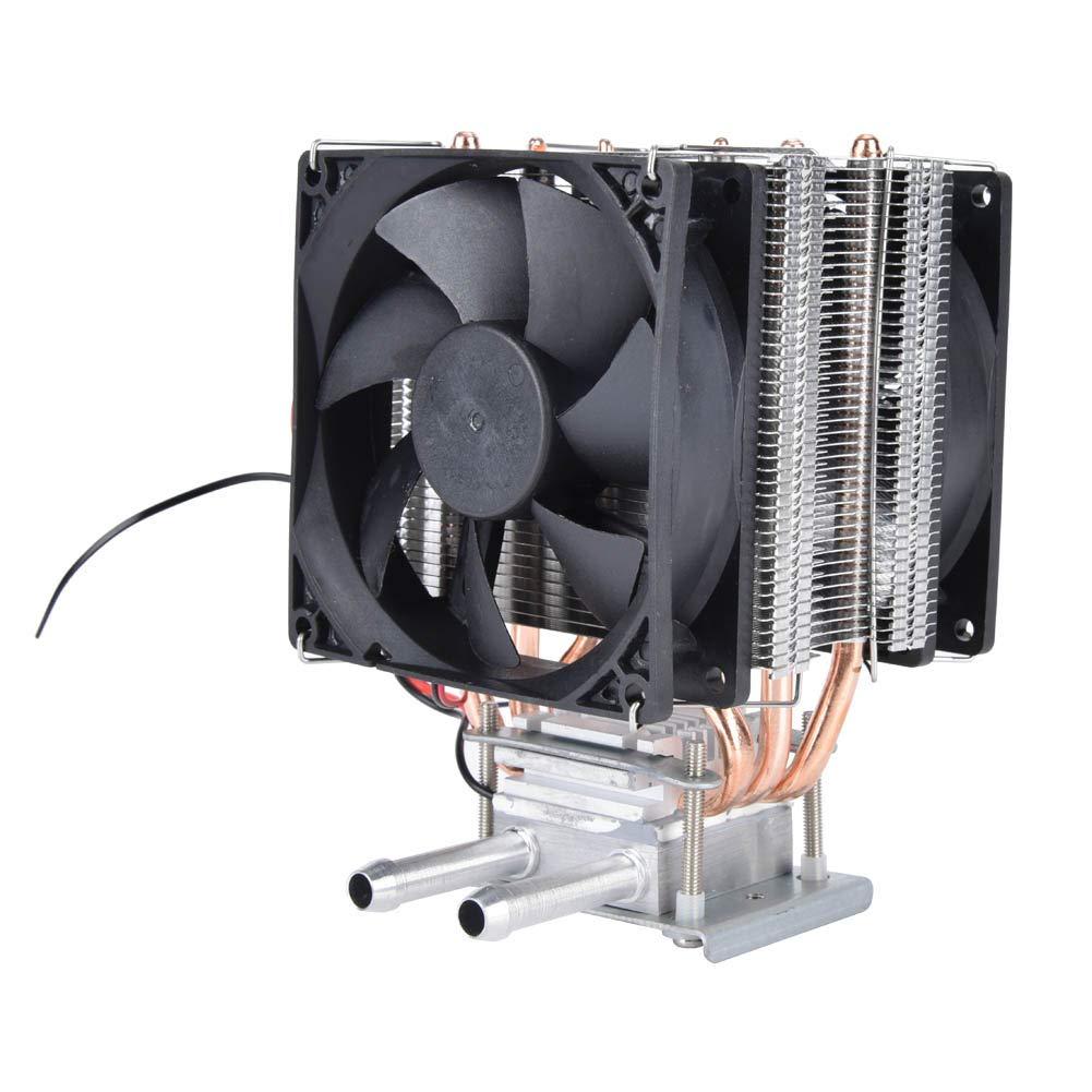 Ruspela Semiconductor Refrigerador 12 V Termoeléctrico Peltier Refrigeración DIY Sistema de Enfriamiento de Agua Dispositivo Enfriador con Ventilador