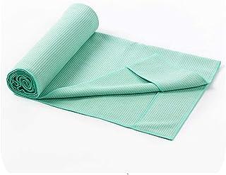 Yoga Mat Folding Exercise Yoga Mat| Classic Thick Solid Yoga Towel 183cm*63cm Non Slip Portable Travel Yoga Mat Towel Eleg...