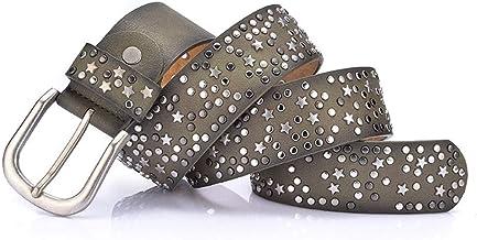 Fashion Belt Dresses Retro Ladies Waist Belt Fashion Casual Jeans Belt Durable (Color : Green)