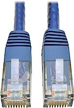 Tripp Lite Cat6 Cat5e Gigabit Molded Patch Cable RJ45 M/M 550MHz, 7 ft., Blue