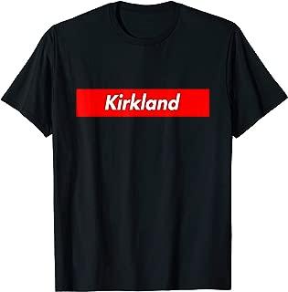 kirkland logo shirt
