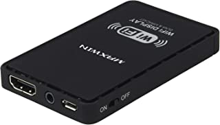 MAXWIN(マックスウィン) WiFi ドングル 車載 iPhone スマートフォン Android HDMI RCA 純正ナビ 接続 アンドロイド アイフォン Air Play エアープレイ Miracast WiFi display Screen mirroring Allshare