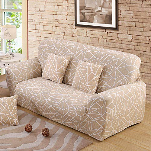 Funda elástica para sofá Funda elástica para sofá Sillones en Forma de L Funda seccional Sofá Toalla Funda para sofá Protector de Muebles A20 4 plazas