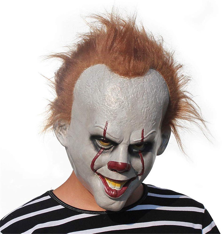 WYDM Halloween Maskerade Kleid Party lustige Horror Maske Gesicht Hood Festival Requisiten B07H98XFX9 Vorzüglich  | Sehr gute Farbe