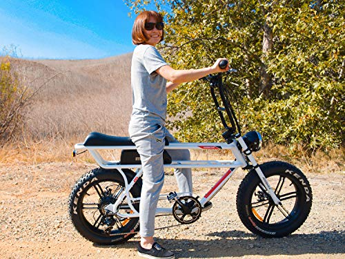 Addmotor MOTAN Electric Bike 750W 48V 16Ah Lithium Battery Pedal Assist 20 Inch Fat Tire 85% Assembled Comfort M-70 P7 Ebikes for Adults Men