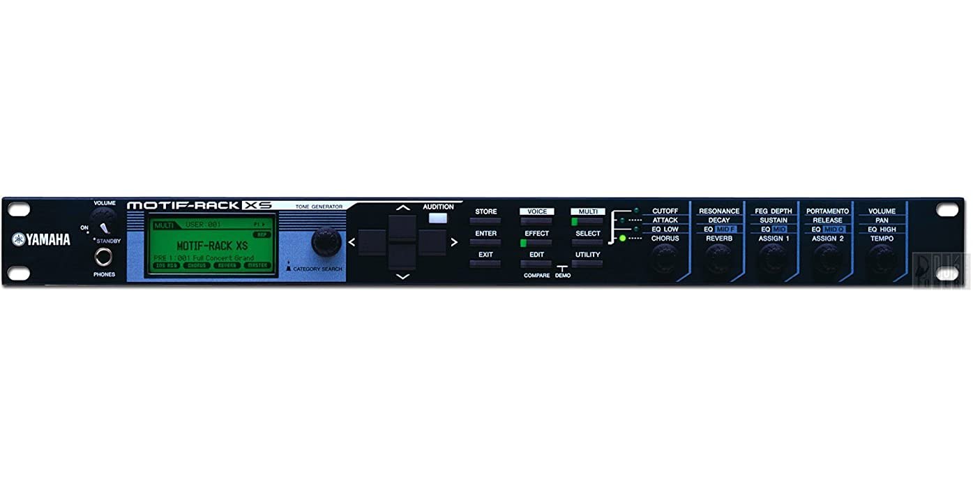 ケーブルカー印をつける雰囲気ヤマハ YAMAHA MOTIF XSシリーズ音源モジュール MOTIF-RACK XS