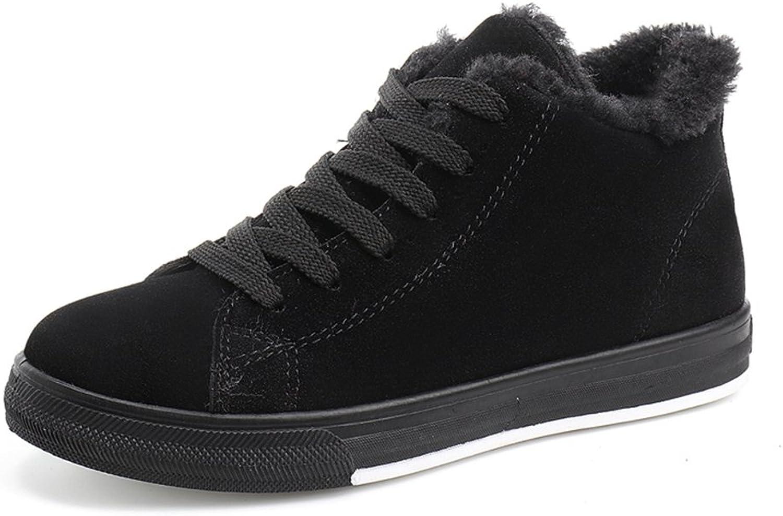 CYBLING Women's Winter Flat shoes Casual Fashion Sneakers Comfort Soles shoes