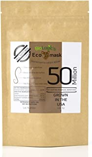 BioLogic All-Natural Pest Control Ecomask - 50 Million Steinernema carpocapsae (Sc) Beneficial Nematodes for Fleas, Armyworms, Cutworms and More - Pet, Plant and Family-Safe - USA Grown, Non-GMO