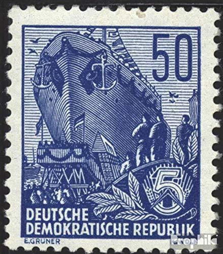Prophila Collection DDR 457X II, seltenes Wasserzeichen 1955 Fünfjahresplan (IV) (Briefmarken für Sammler)