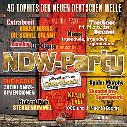 NDW-Party - 40 Tophits der Neuen Deutschen Welle