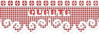 Stencil Negativo Renda Semana Quarta 10x30 - Opa 2677