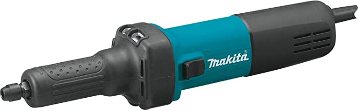 "Makita GD0601 1/4"" Die Grinder, with AC/DC Switch,Blue"