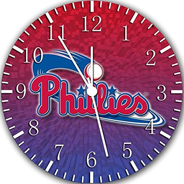 Phillies Frameless Borderless Wall Clock Z174 Nice For Gift Or Room Wall Decor