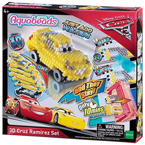Aquabeads Epoch Traumwiesen 30208 Cars 3 3D Cruz Ramirez Motivset