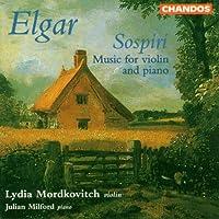 Elgar: Sospiri, Music for Violin & Piano by Lydia Mordkovitch (1998-05-19)