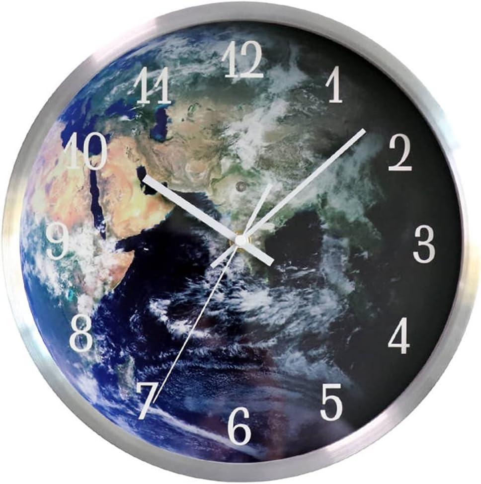 Wall Clock - Creative LED Weekly update Luminous Lac Import Lighting Metal Baking