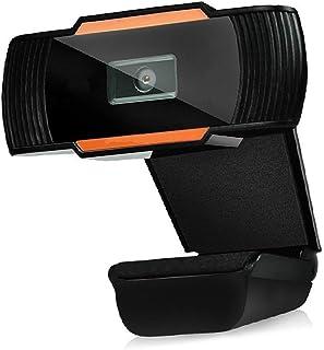 JINHAN HD كاميرا ويب USB كاميرا ويب مجانية كاميرا على الانترنت دراسة اجتماع الدعوة كاميرا الفيديو المدمج في ميكروفون، تواف...
