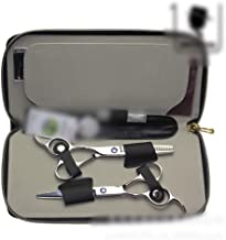 Professional Barber 6 Inch Professional Left Hand Set, Thin Haircut Set Scissors (Color : Silver)
