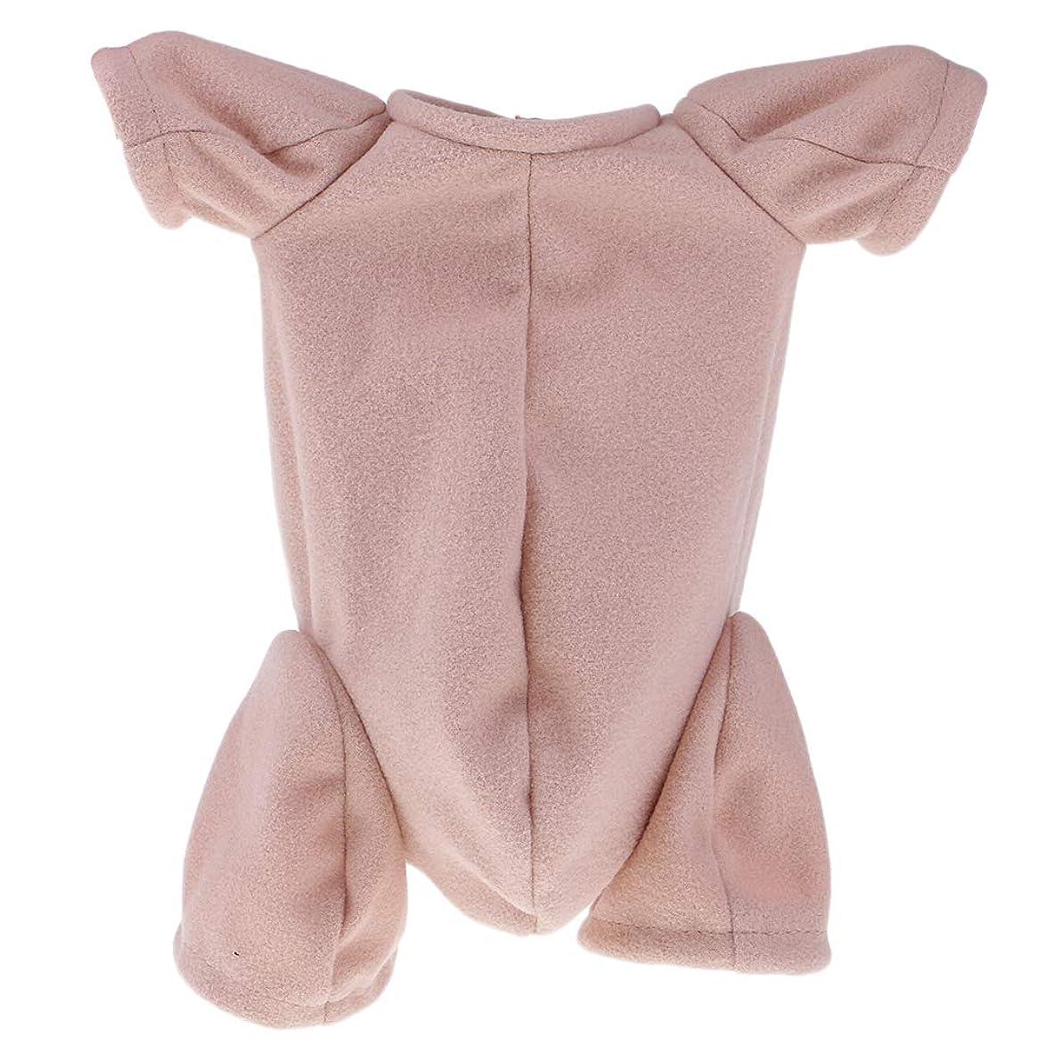 エゴマニアスリーブ校長Tachiuwa 18インチリボーンベビー用 人形ボディ 布体 布のボディ 固定バンド付 新生児用ドール 適用