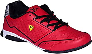 Lancer Stylish & Comfortable Sports Shoes for Men (Red)